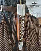 Leather Steampunk Corset Parasol Belt Holster Holder