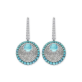 Divine Collection Paraiba Earrings