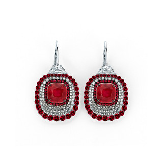 Divine Collection Ruby Earrings