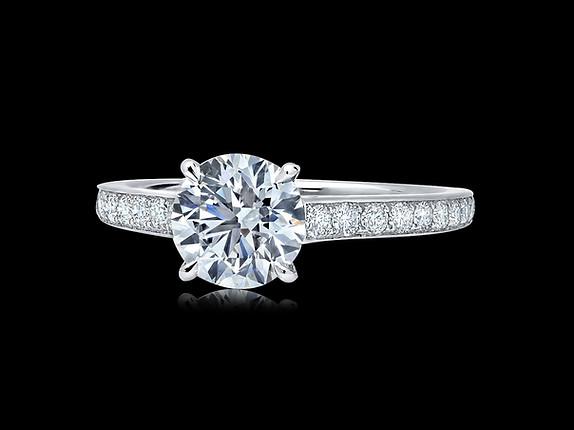 Round Diamond Solitaire Ring