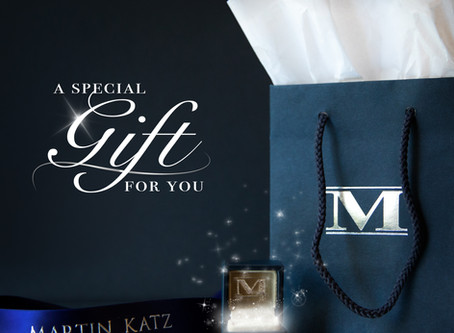 Celebrate the NEW Martin Katz Website with a Special Gift!