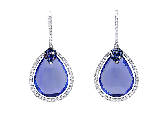 Tanzanite Briolette Earrings