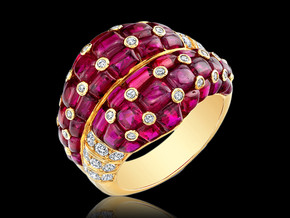 Berry Ruby Ring