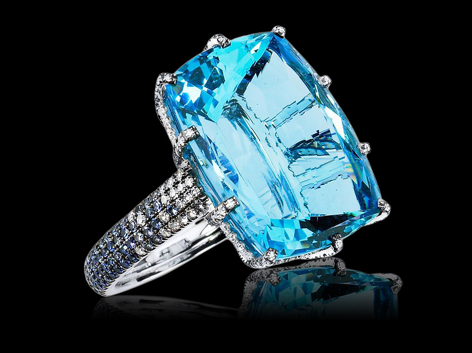Santa Maria Aquamarine Ring