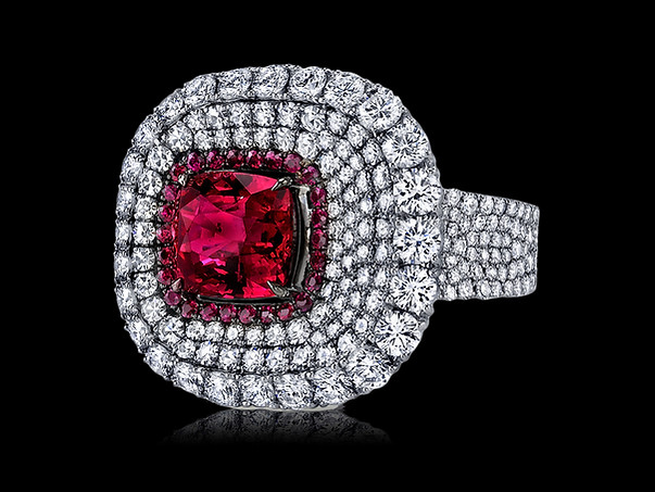 Divine Ruby and Diamond Ring
