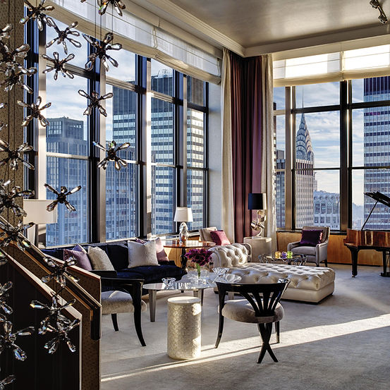 The Jewel Suite at The New York Palace Hotel