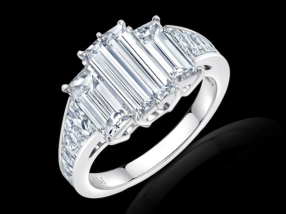 4-Stone Baguette Diamond Ring