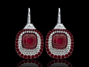 Divine Ruby Earrings