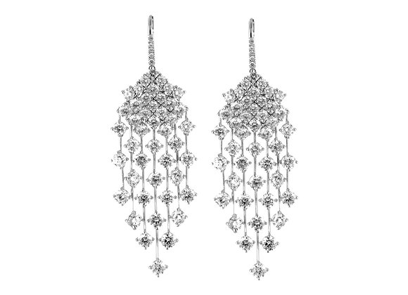 Rain Diamond Earrings
