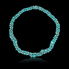 Paraiba Cabouchon Necklace