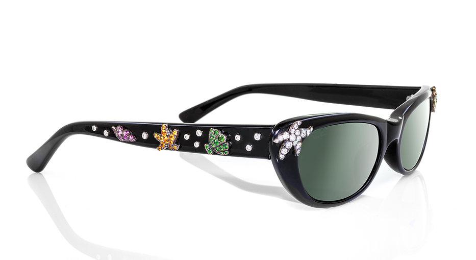 Jeweled glasses by Martin Katz - La Plage