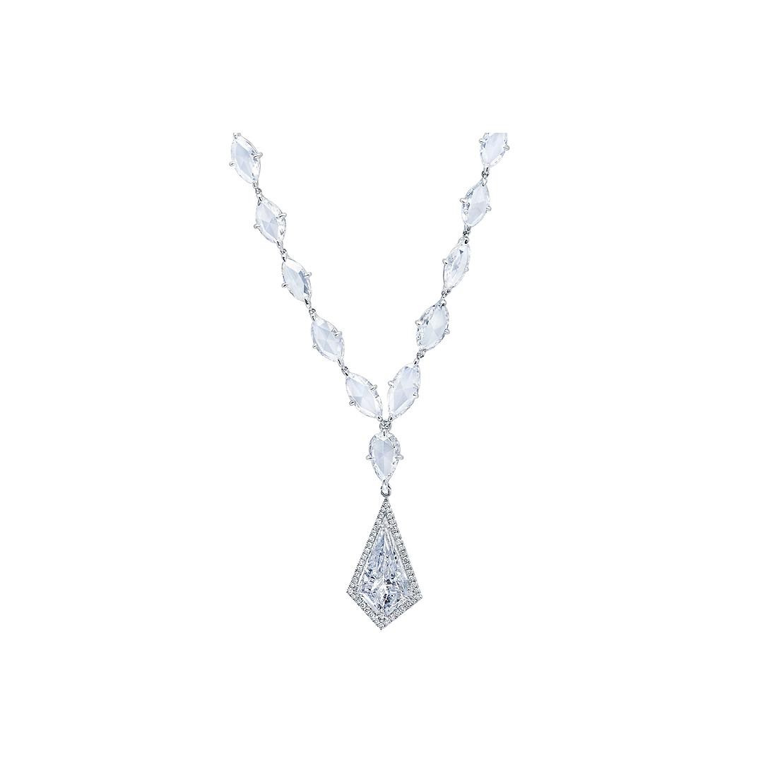 Kite Diamond Necklace