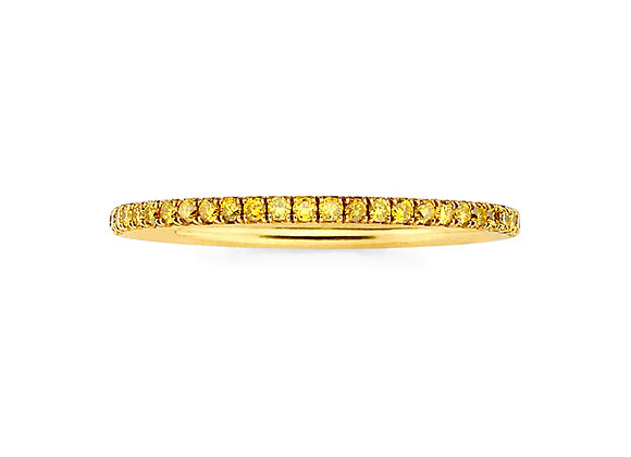 Yellow Diamond Microband 18K Yellow Gold Martin Katz