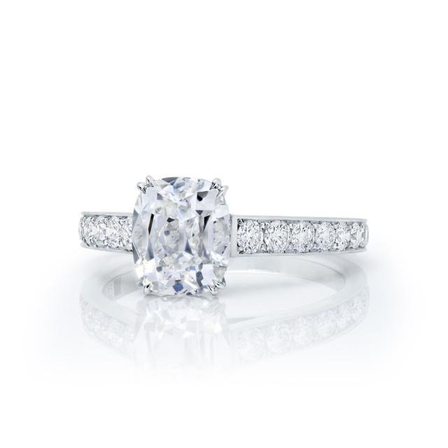 Classic Old Miner Diamond Ring