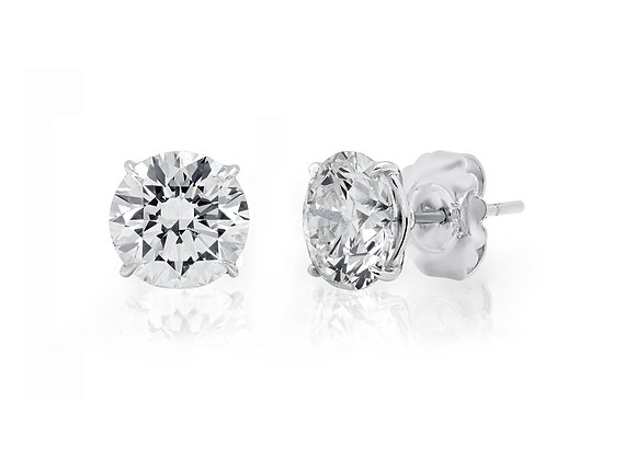 Round Brilliant Diamond Studs