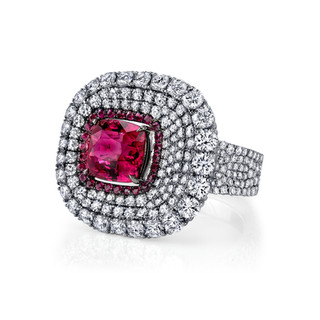 Divine Collection Ruby Ring