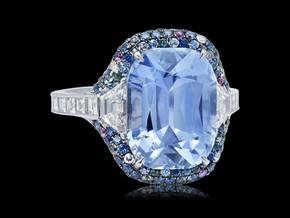 Pastel Blue Sapphire Ring