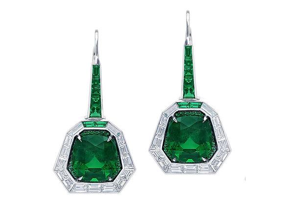 Vivre Emerald Earrings