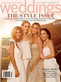 Martha Stewart Weddings Style Issue