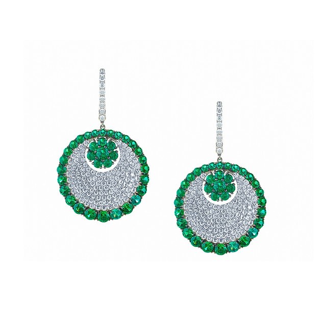 Divine Collection Emerald Earrings