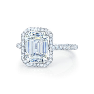 Classic Emerald Cut Diamond Ring