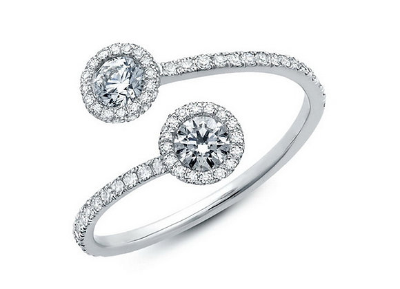 Toby Bypass Diamond Ring