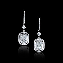 Ashoka Diamond Drop Earrings