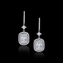 Ashoka Diamond Drop Earrings