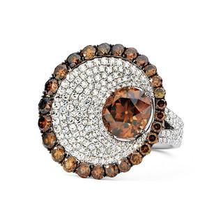 Divine Collection Cognac Diamond Ring
