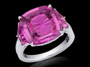 Classic Cushion Sapphire Ring