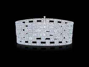 Checkered Diamond Bracelet