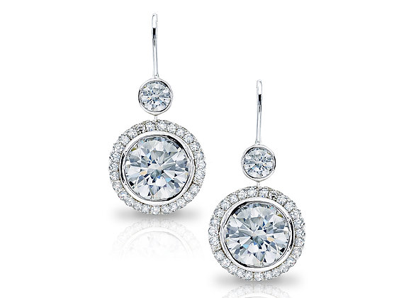 Round Brilliant Earrings