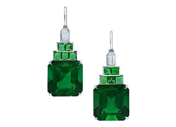 Emerald Cut Colombian Emeralds