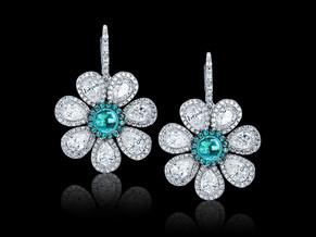 Paraiba Flower Earrings