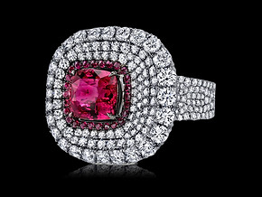 Divine Ruby Ring