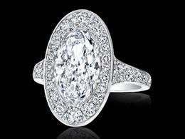 The Grand Oval Diamond Ring