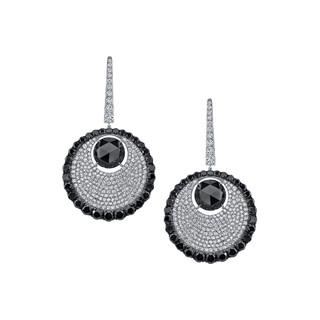 Divine Collection Black Diamond Earrings
