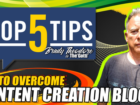 Overcome Video Content Creation Block with These 5 Tips