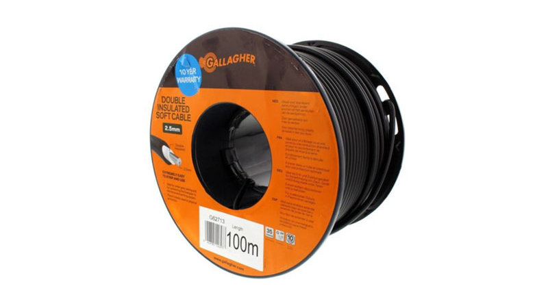 Double Insulated Heavy Duty Soft Cable 100M
