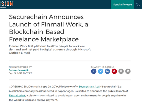 News About Finmail Work