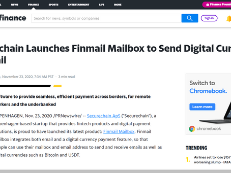 News Report About Finmail Mailbox