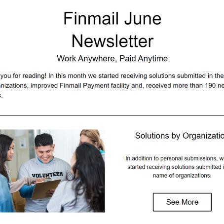 Finmail June Newsletter