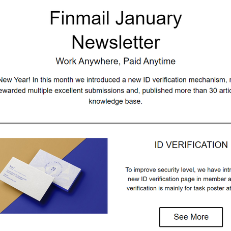 Finmail January Newsletter