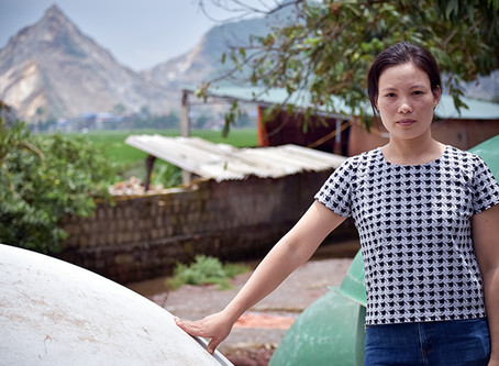 Pig pens power a solution to climate change in Vietnam
