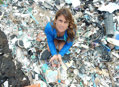 Plastics aren't just polluting our oceans — they're releasing greenhouse gases