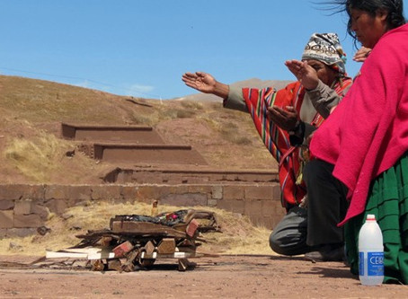 A drone unveils the secrets of Tiwanaku  | UNESCO's World Heritage Site
