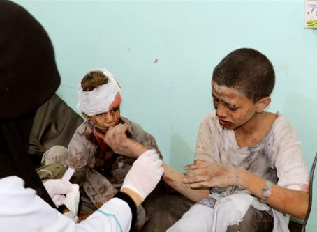 UNCONSCIONABLE attack on children should be turning point in Yemen's brutal war – enough is enough