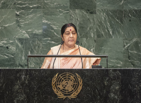 India 'will not let you fail' to reach Sustainable Development Goals, Foreign Minister tells UN
