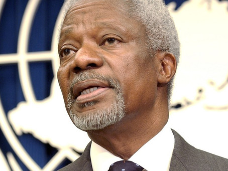 """We need to keep hope alive and strive to do better"" - Kofi Annan"