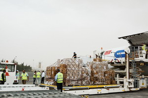 WHO airlifts over 500 tons of essential medicines and medical supplies to Yemen